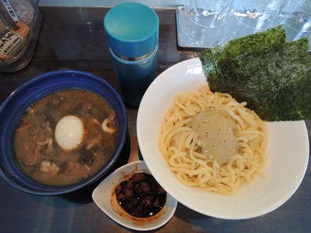 特製栄螺のつぼ焼きつけ麺(1280円)