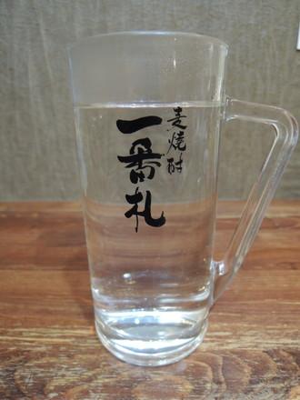 芋焼酎「おすすめの芋」(鹿児島)お湯割り(420円)