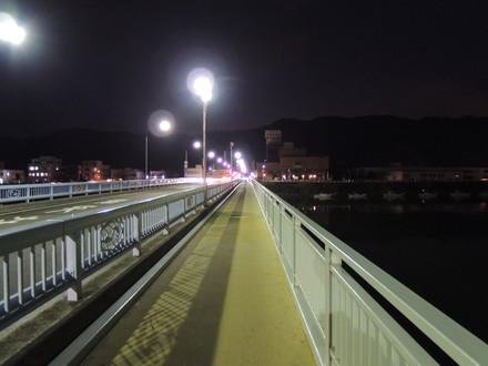 お店から箕島駅までの道のり(安諦橋)