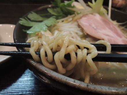 味噌らーめんの麺