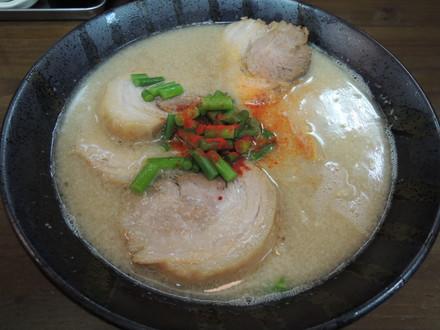 鶏豚骨らぁめん(750円)+チャーシュー(200円)