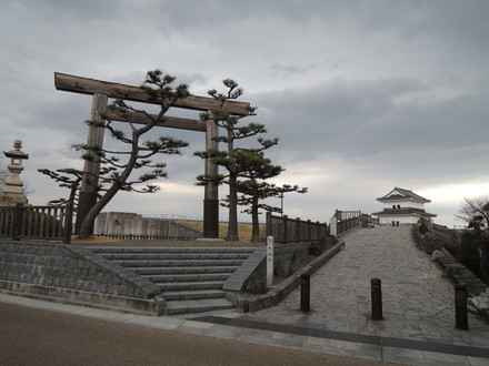 旧東海道「七里の渡し跡」(桑名市船馬町)