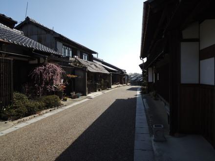 旧東海道「関宿」(亀山市関町木崎)