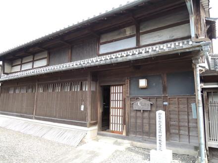 旧東海道「庄野宿資料館」(鈴鹿市庄野町)