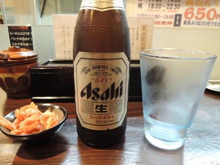 ビールセット(アサヒビンビール+キムチ)