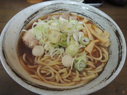 極太中華そば(750円)