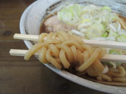 極太中華そばの麺