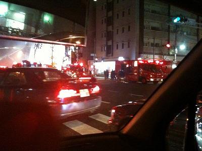 浅草橋の火事