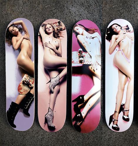 スーパーモデルSkateboard - Erin Wasson