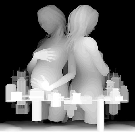 アクリルアート - 高松和樹「距離感主義」