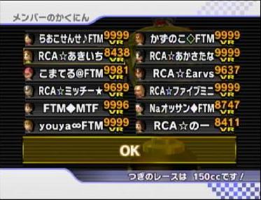 RCA vs FTM参加者