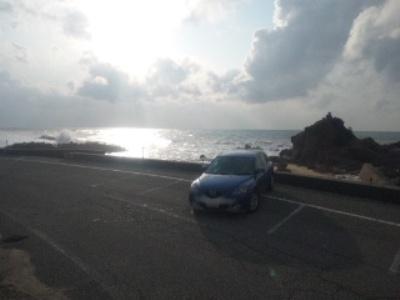 アクセラと日本海