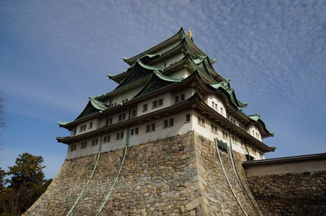 名古屋城アップ