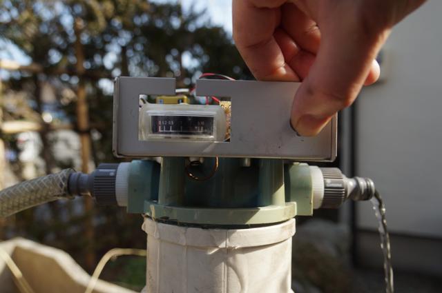 ヤマト ピュアラインWL-100 イオン交換樹脂交換完了