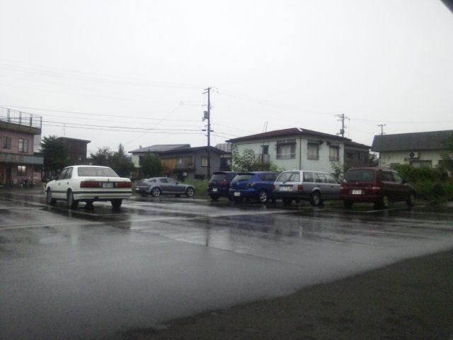 新潟にそろった我が一族のマツダ。