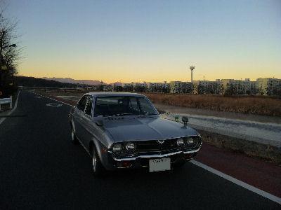マツダルーチェロータリーと'10年1月2日の富士山