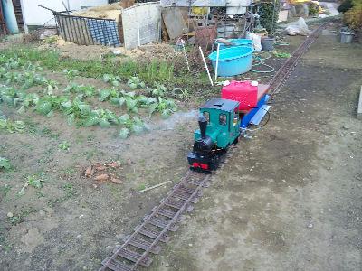 簡易軌道・軽便鉄道みたいなのどかな生活感溢れる庭園鉄道