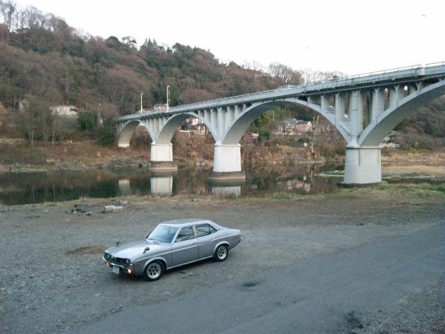 マツダルーチェと相模の小倉橋