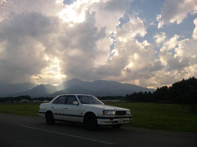 V6ルーチェと夏の八ヶ岳山麓
