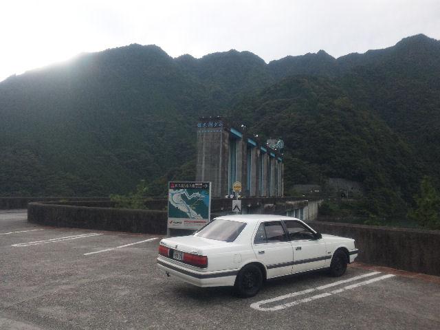 HCルーチェと秋の佐久間ダム