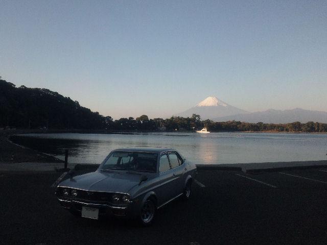ロータリールーチェと大瀬崎と富士山
