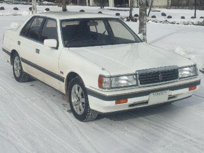 ルーチェ、雪上にて。北軽井沢