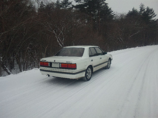 V6ルーチェと軽井沢の雪
