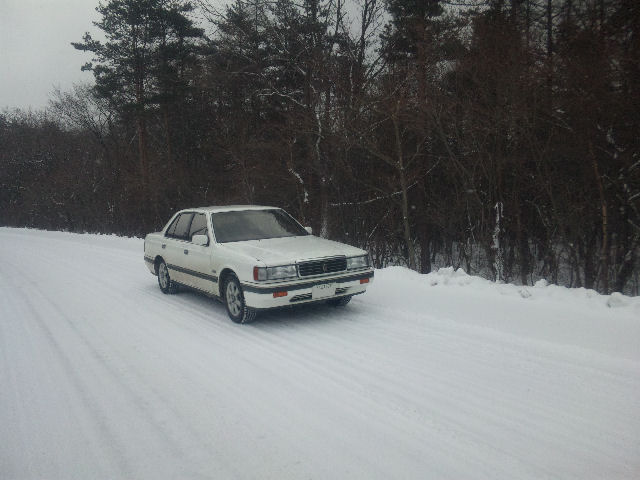 マツダルーチェと軽井沢の雪