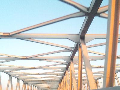 利根川にかかる東北縦貫自動車道の橋