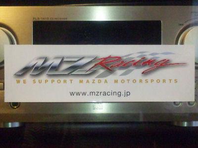 MZ Racingのステッカー