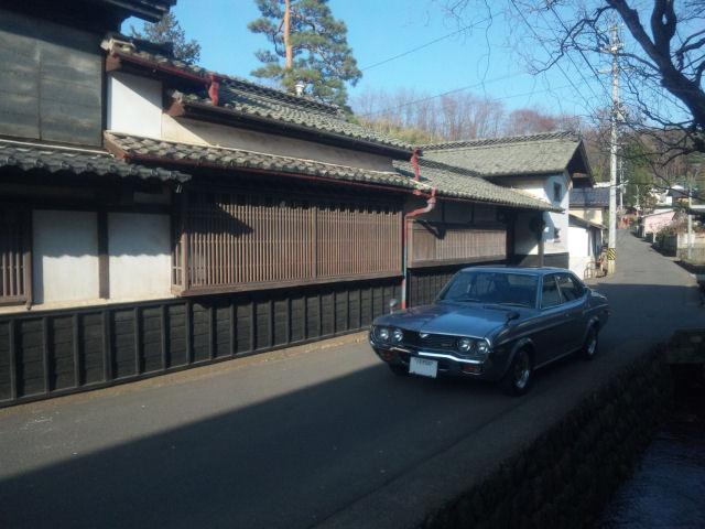 マツダルーチェと旧中仙道沿いの酒蔵