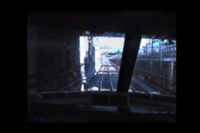古き良き頃の鉄道 新幹線の運転台より