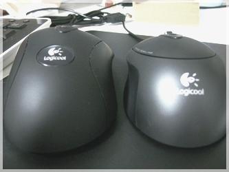 ロジクール RX1500 レーザーマウス と MX518