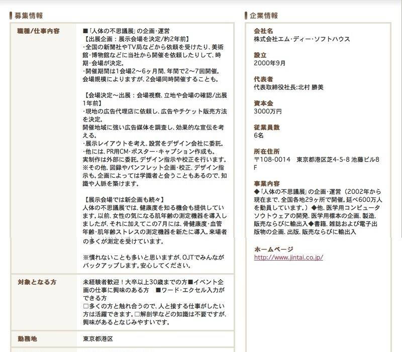 Red Fox 『人体の不思議展』の謎...