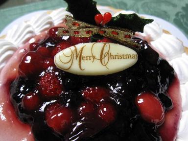 今年のケーキです(≧▽≦)♪