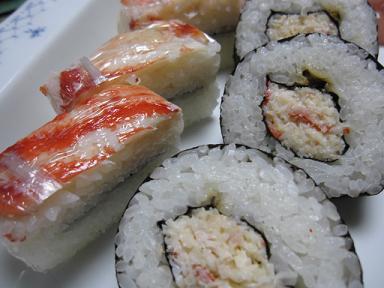 かに寿司~♪