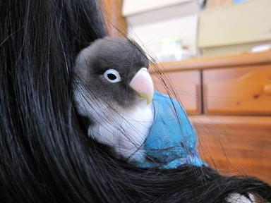髪に埋もれるの大好き~♪