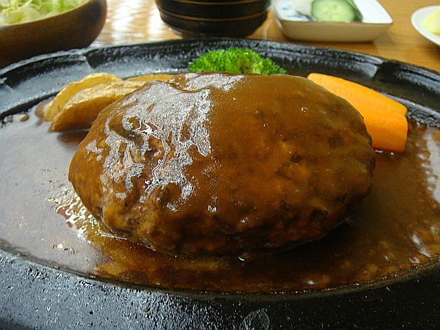 限定ランチ「ハンバーグ」定食@吉澤