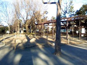 1月2日の中庭