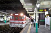 磐越西線からの新潟行き(新津駅)