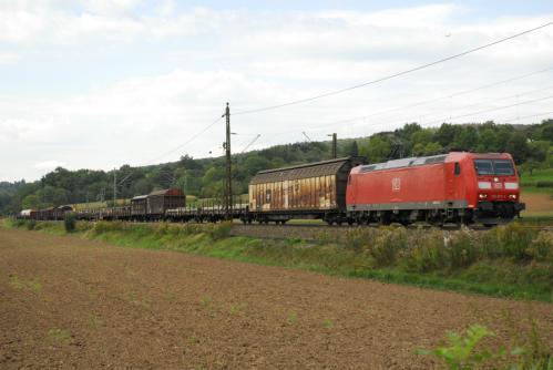 Güterzug in Ebersbach