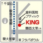 ラケットハウスキング関大前店地図