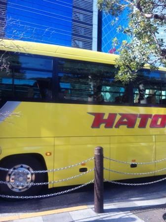 はとバスツアー_はとバス