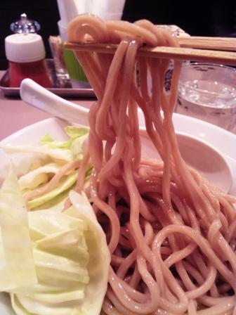 海老つけ麺の麺