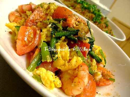 DSCF1・14海老の卵炒め