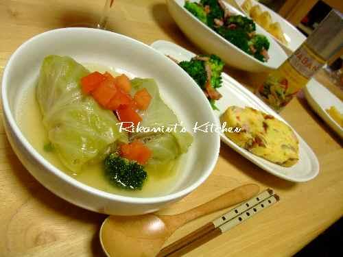 DSCF1・31夕飯