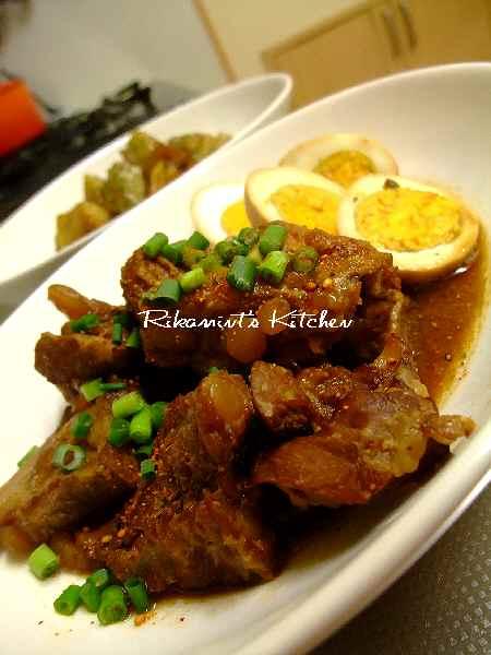 DSCF2・4豚軟骨の味噌煮 (1)