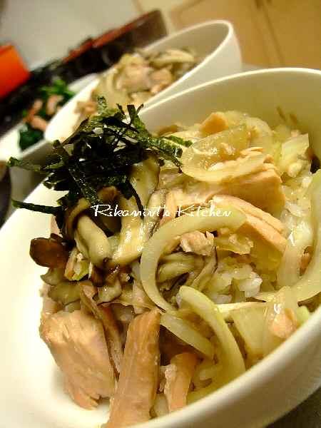 DSCF2・18鮭丼 (1)