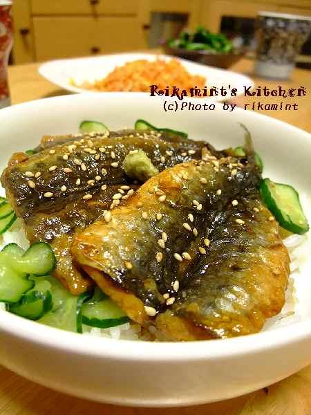 DSCF3・28いわしの蒲焼丼 (3)