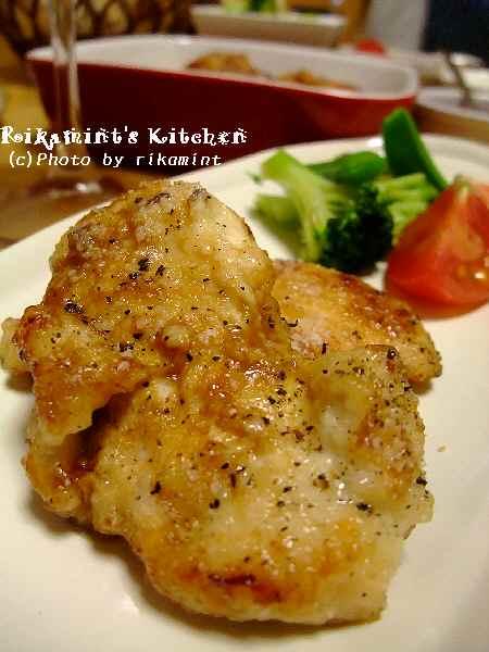 DSCF5・8鶏むね肉のチーズ焼き (2)